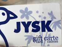 Gift card for Jysk