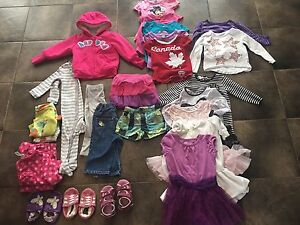 Girls Clothes Lot Size 2