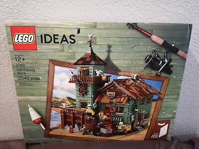 LEGO Ideas 21310 Old Fishing Store. Brand New In Sealed Box HARD TO FIND