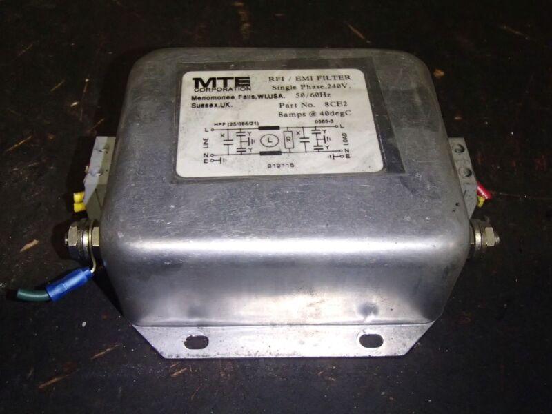 MTE Corporation RFI/EMI Filter 8CE2