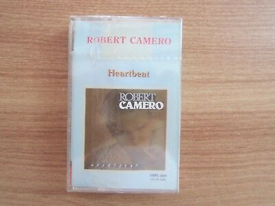Robert Camero - Heartbeat Album Korea Edition Sealed Cassette Tape ITALO DISCO