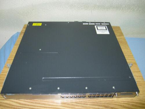 Cisco WS-C3750X-24P-S 24-Port PoE Gigabit 3750X Switch w/ AC-1 Year Warranty