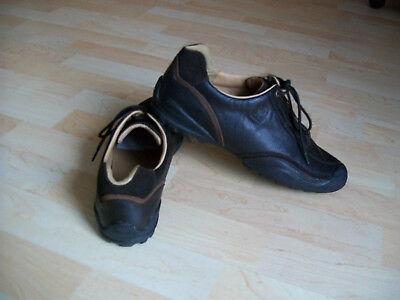 GABOR COMFORT Damenschuhe Sneaker Halbschuhe Gr.8,5 - 42,5 Leder, braun, TOP!