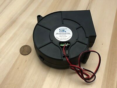 Gdstime 9cm 2 Wire Pin Blower Fan 97mm X 33mm Dc 24v Brushless 9733 Squirrel C37
