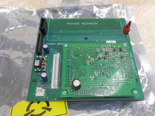 Advanced Instruments 43c170r Pcb400 Printer Mechanism Circuit Board Pcb
