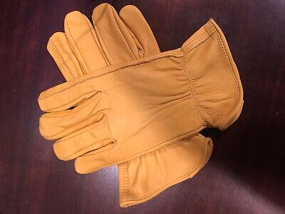 Leather Work Gloves Size Large