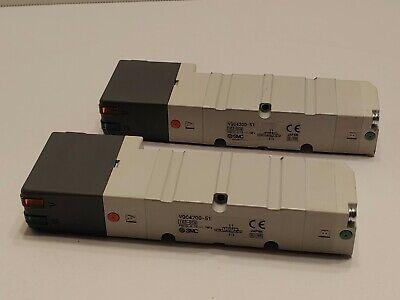 Lot Of 2 Smc Solenoid Valve Vqc4200-51