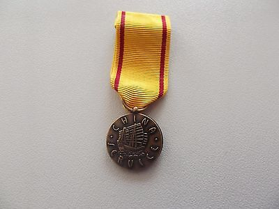 ^A20-125/126 US China Service Navy, Marine Corps Medal  US Miniatur-Orden