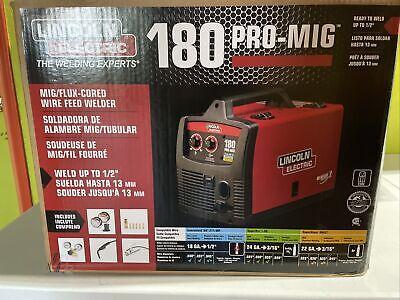 Lincoln Electric Pro-mig Weld Pak 180 Welder 230-volt Flux-cored K2481-1 New