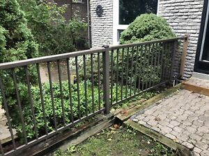"""Fence and gates. 42"""" high"""