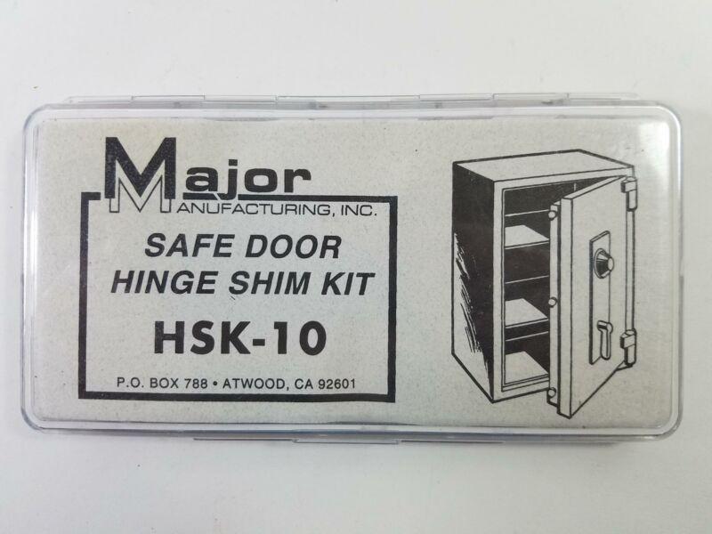 Major Manufacturing HSK-10 Safe Door Hinge Shim Kit Near Full Nice