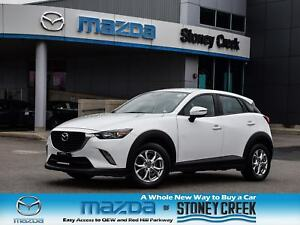 2016 Mazda CX-3 GS Heated Seats Rear Cam Cruise B/T Alloy