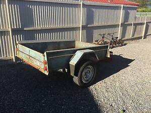 6X4 TREG SINGLE AXLE TRAILER LT TYRES REGO MODERN CHINESE AUSSIE Noarlunga Downs Morphett Vale Area Preview