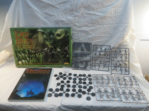 Lord of the Rings Fellowship Games Workshop Core Set Battle Strategy Game 2001