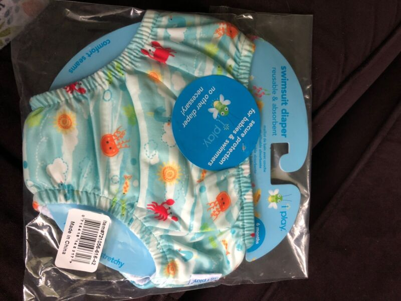iplay reusable swim diaper 6 months