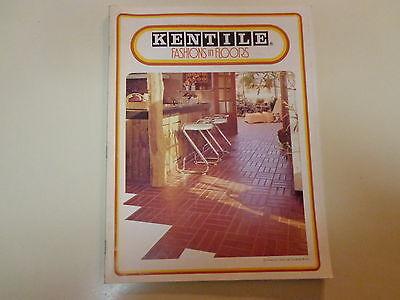 Kentile Fashion in Floors Catalog 1977 Vinyl Asbestos Tiles Mesothelioma