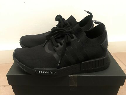 Adidas NMD R1 Japan Triple Black US6.5 Mens