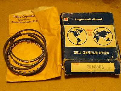 New Ingersoll Rand Air Compressor Piston Ring Set W114364t6 Ships Out Fast