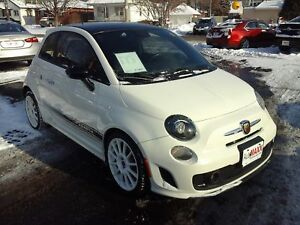 2014 FIAT 500 ABARTH- NAVIGATION SYSTEM, BLUETOOTH, SATELLITE RA