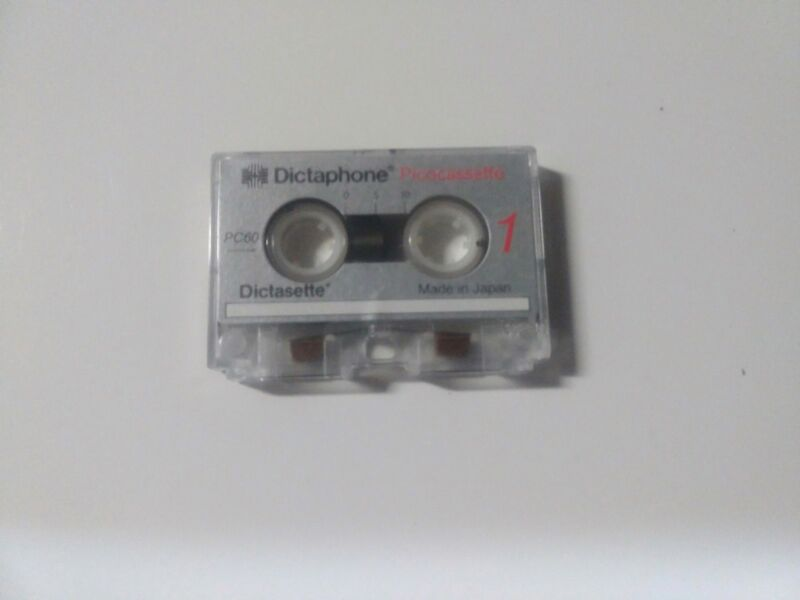 Dictaphone Pico Cassette world