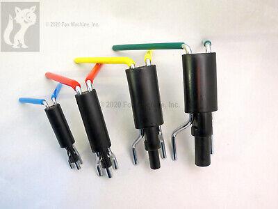 Hydraulic Cylinder Rod Seal Installation Tool Kit 4 Sizes
