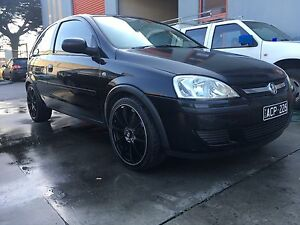 2005 holden xc barina 17'' alloys rego an rwc West Melbourne Melbourne City Preview