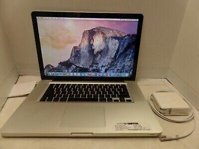 "MacBook Pro 15"" Late 2008 MB471LL/A  2.53GHz C2D 4GB 320GB"