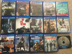 Selling PS4 Games EXCELLENT CONDITION!!