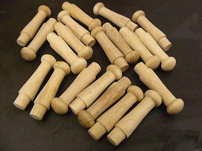 Деревянные вещи 24 Oak Shaker Pegs