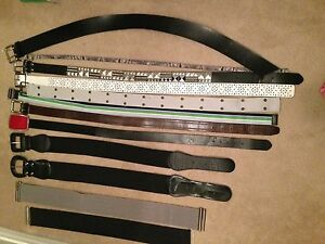 12 Woman's Belts