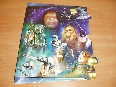 Star Wars Part 1 of the Panorama jigsaw puzzles.