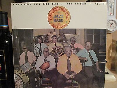 PRESERVATION HALL JAZZ BAND-NEW ORLEANS-VOL. II-1982-CBS LP-VG+