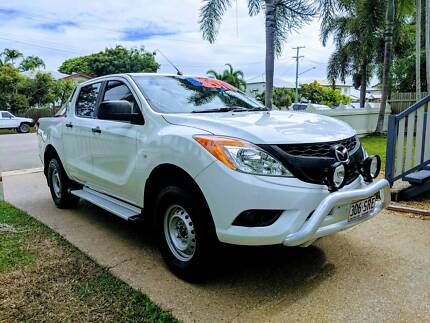 2013 mazda bt 50 up0yf1 xt white 6 speed manual cab chassis cars 2013 mazda bt 50 32l turbo diesel dual cab 4x4 35t tow fandeluxe Image collections