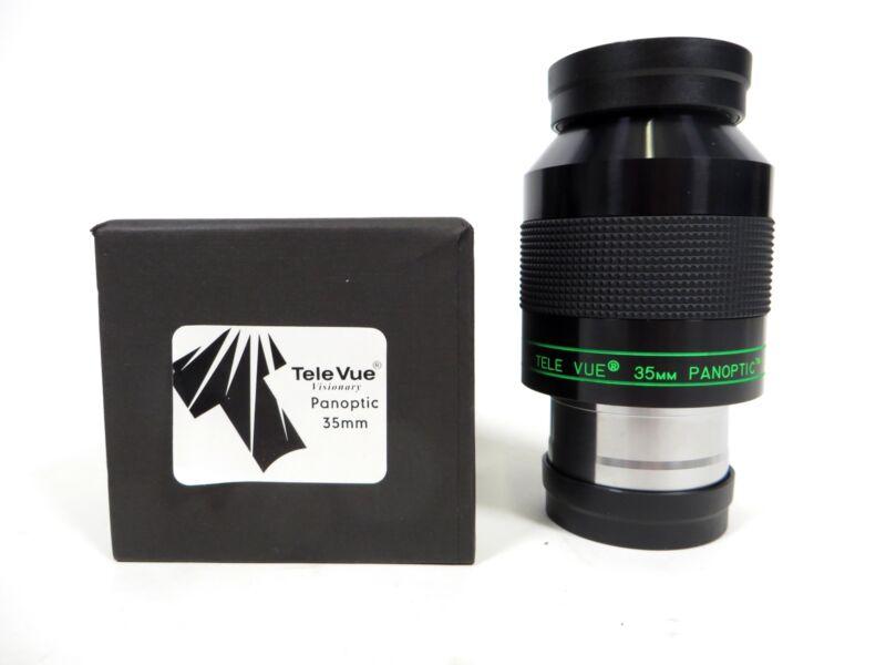 "TeleVue Panoptic 35mm Telescope 2"" Eyepiece EPO-35.0 08340"
