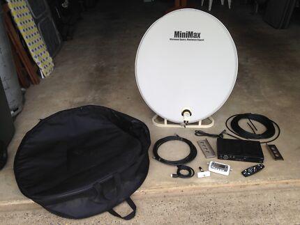 Portable Satelite TV system