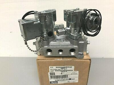 New Parker L6853610261 38 Double Solenoid Valve