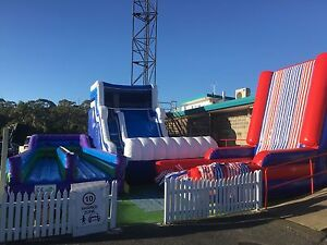 Sporting inflatables at Blacktown markets drive ins Cranebrook Penrith Area Preview