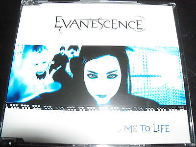 Evanescence Ft Amy Lee Bring Me To Life Australian 4 Track Cd Single   Like New