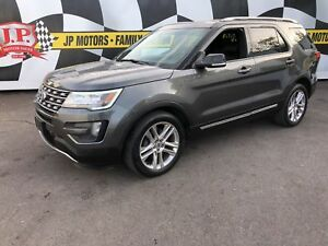 2016 Ford Explorer XLT, Navigation, Leather, Pan Sunroof, 4x4