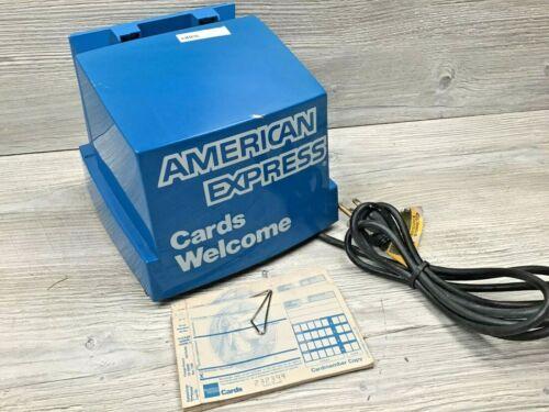 Vintage American Express Credit Card Imprint Machine DataCard Addressograph 840
