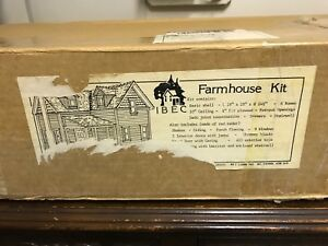 IBEC Miniature Farmhouse Kit