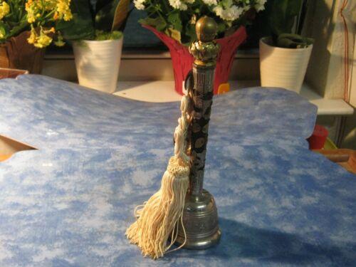 "VINTAGE JAPANESE ROYAL MARVELOUS METAL BUDDHIST TEMPLE BELL 8.5"" Showa XLNT"
