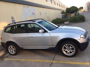 2005 BMW X3 rego & rwc sale/swap