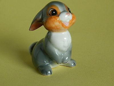 Vintage Thumper Rabbit Ceramic Figurine from Bambi 2 1/2