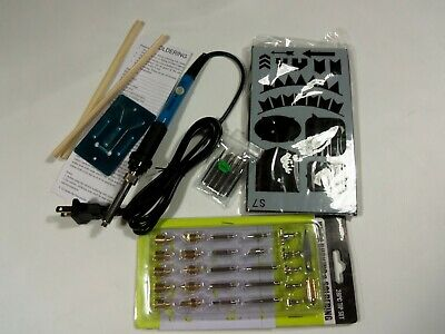 - Vastar 44pcs Wood Burning Kit Creative Woodburner Temperature Adjustable with 7