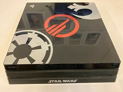 Sony Playstation PS4 Pro Star Wars Battlefront 2 Limited Edition Console 1TB