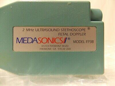 Medasonics Model Fp3b 2mhz Ultrasound Stethoscope Fetal Doppler