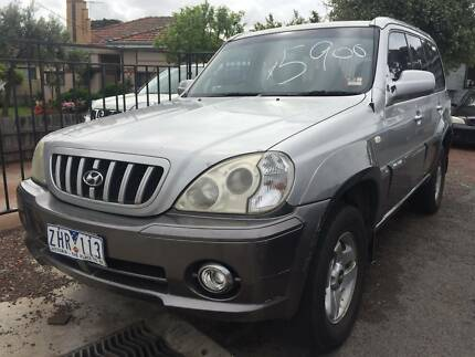 2001 Hyundai Terracan Wagon REG RWC Oakleigh East Monash Area Preview