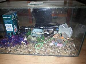 Medium size fish tank Elizabeth Downs Playford Area Preview