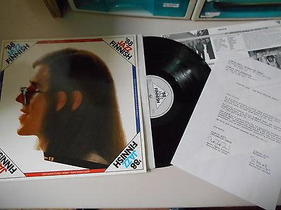 LP VA Finnish Jazz '88 (8 Song) FINNISH JAZZ FEDERATION Insert / Presskit